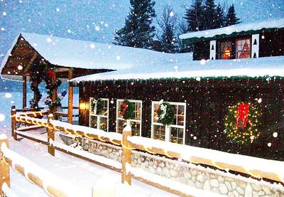 Let it snow, let is snow, let it snow!
