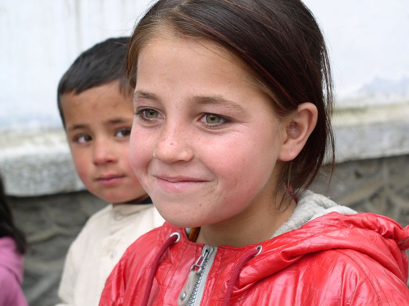 Nuristan girl . I believe Afghan children are the most beautiful in the world, for physical appearance and temperment.