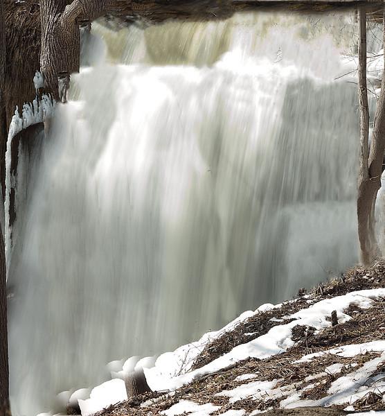 Smokey Hollow Falls, Waterdown, Hamilton, Canada
