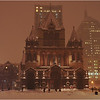 Trinity Church, Copley Square. Back Bay. December, 2013.