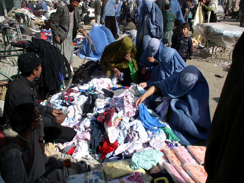Shopping in Kabul, never under-estimate the power of women shopping for a bargain. The weather is steadily warming and days are beautiful here.