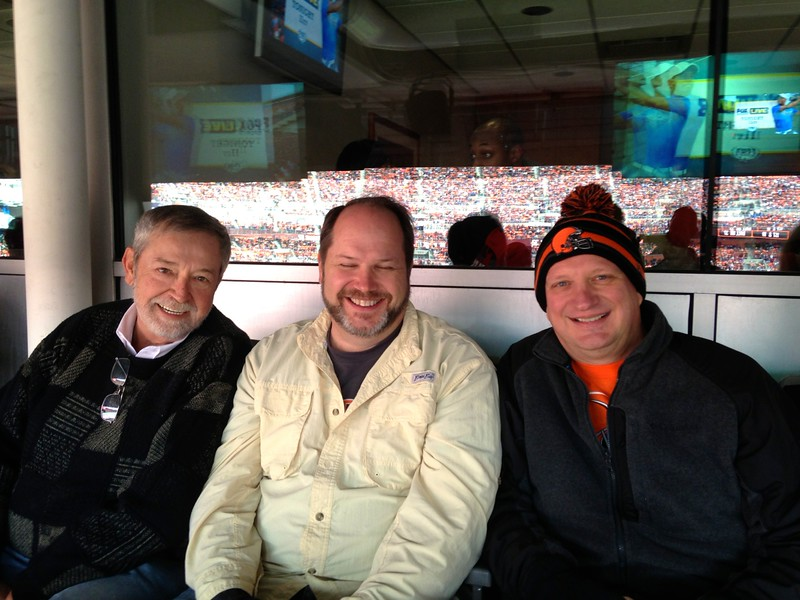 browns game with Joe
