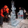 Winterfest Ice Carving - Bugs Bunny (Sy Stepanov)
