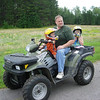 The ATV's are, of course, a hit with the kids.