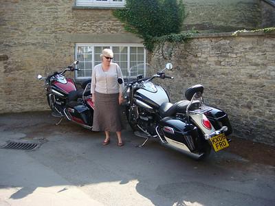 Lynn with bikes
