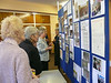 Browsing the exhibition of the 40 years of St. Andrew`s Wives Group