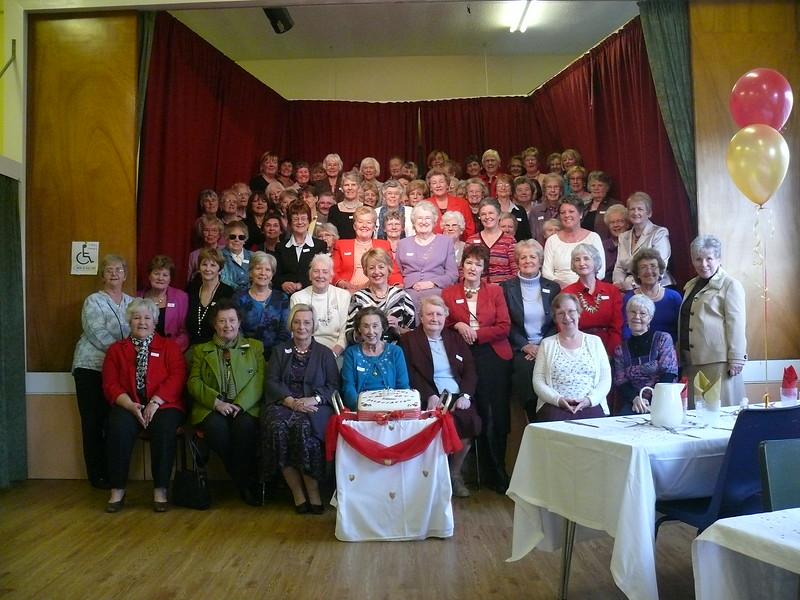 Members Celebrating 40 years of Wives