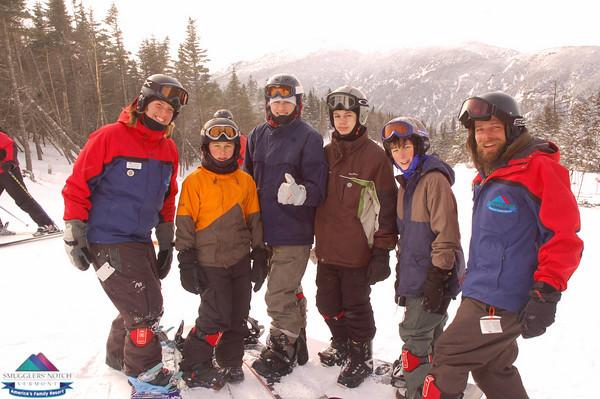 Wk.of Jan.31st-Ski School Group Photos