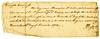 """Fincastle County, Virginia. 1773.  No """"pay to"""" endorsement."""