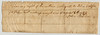 Montgomery County, Virginia, 1782. Back.  Note assignment statement made several months after the receipt is dated.