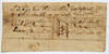 Harrison County, Indiana Territtory, 1808.  Back.  Note assignment statement.