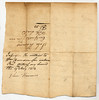 Franklin County, Indiana Territory, 1813.  Note assignment statement.