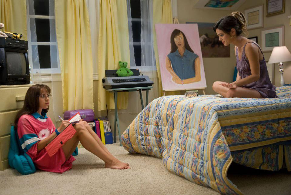 """. Aubrey Plaza, right, is an A student determined to spend the summer before college catching up on all the dirty things she\'s never done in Maggie Carey\'s semi-autobiographical comedy \""""The To Do List,\"""" out July 26."""