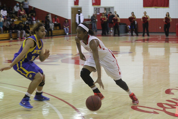 Women's Basketball Action 2014-2015