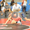 2014 Junior Womens Freestyle Nationals <br /> 130 - Champ. Round 2 - Jasmine Bailey (Iowa) over Lauren Gilbert (Texas) (Fall 0:41)
