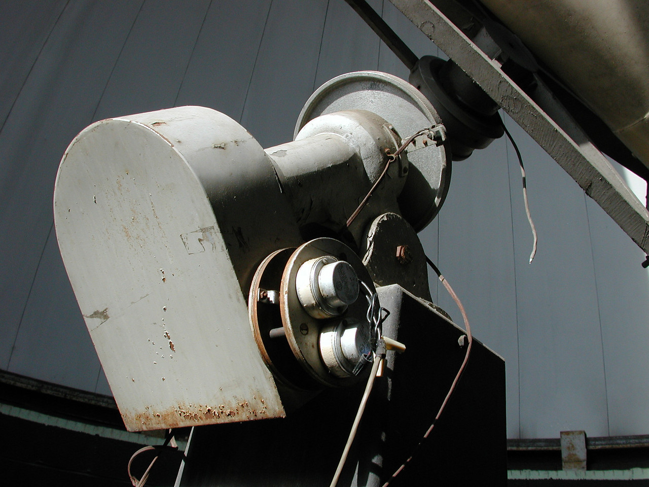 Clock drive - end of the telescope.