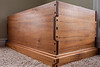 Blanket / Toy chest - African Mahogany