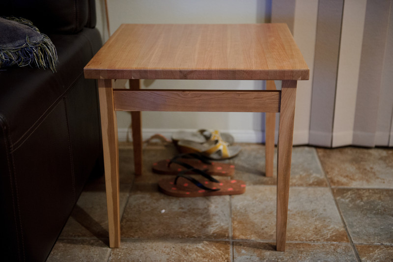 End table - cherry