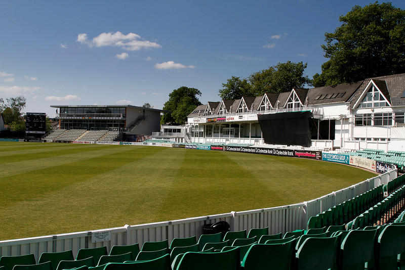 Worcestershire County Cricket Ground - thought by many to be one of the most scenic grounds in England.
