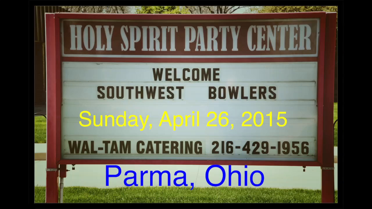VIDEO:  Southwest Bowling Banquet, Sun., 4-26-15
