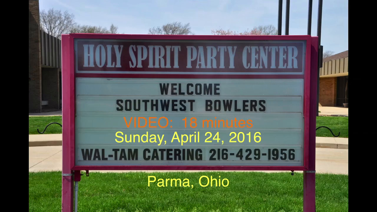VIDEO:  10 minutes -- 2016 SWAAC Banquet, Parma, OH, 4-24-2016.  Click on image above and then on triangle and video will play.