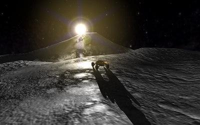Work Lunar Explorer & Mystery Tech