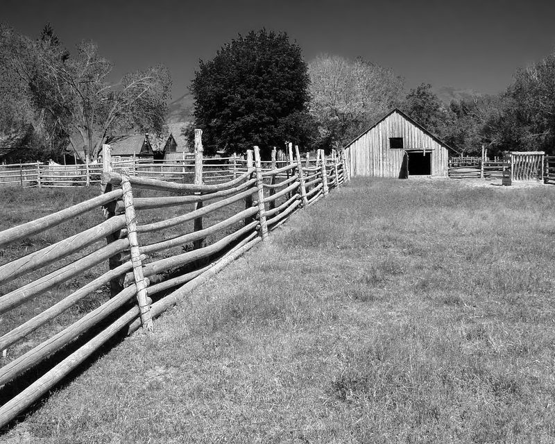 Barn and corral #1