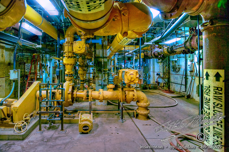 Point Loma Waste Treatment Facility by Jack Foster Mancilla - LensLord™ DigestedSludgeLine