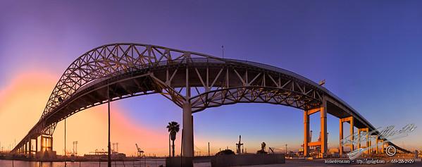 The Gerald Desmond Bridge - Port of Long Beach