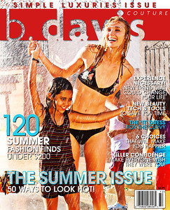 b. davis magazine cover Jelly Bean Howie / Los Carobas, Puerto Rico