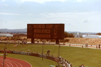 World Cup Athletics Canberra 1985