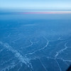 Icy cold over the North Pole