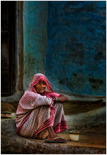 Begger Woman, India