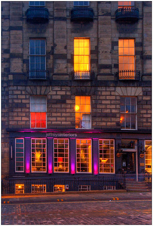 Streets of Edinburgh, Scotland