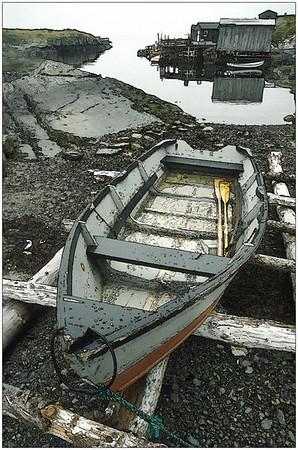 Resting Boat, Nova Scotia