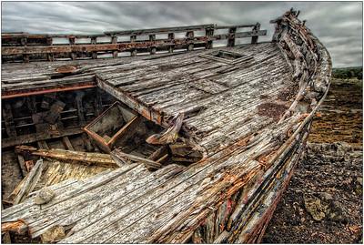 Abandoned Boat, Scotland