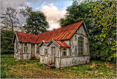 Abandoned Schoolhouse, Scotland