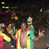 Ain't no party like a Ghana World Cup Victory Party - the scene after Ghana 1 - Serbia 0