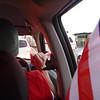 Driving while vuvuzelaing