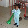 Starting early on the vuvuzela