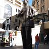 Mandiba: Statue of Nelson Mandela, Santown, Joburg