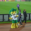 "Official Mascot for the 2010 World Cup in South Africa. Tim would later ask this guy if he could ""borrow his suit"" but was fortunately turned down."