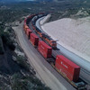 Trains in Cajon Pass
