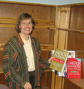 I delivered some health reference books to the Holyoke Council on Aging on October 31, 2005...