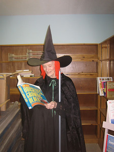 """Eunice began to read Ourselves Growning Older.  Another writer exclaimed, """"But witches DON'T age!"""""""