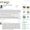 """Everyday people, everyday challenges<br /> Blog for WorldofGood.com<br /> Published February 15, 2010<br /> Available online:  <a href=""""http://community.worldofgood.com/mudindigo/blog/2008/02/15"""">http://community.worldofgood.com/mudindigo/blog/2008/02/15</a>"""