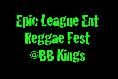BB at Reggae Fest Nov 18