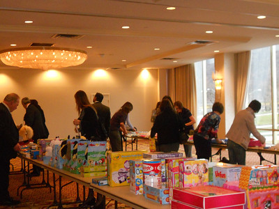 Wyndham Hotel Group Toy Drive & Donation (Pittsburgh, PA - January 2012)