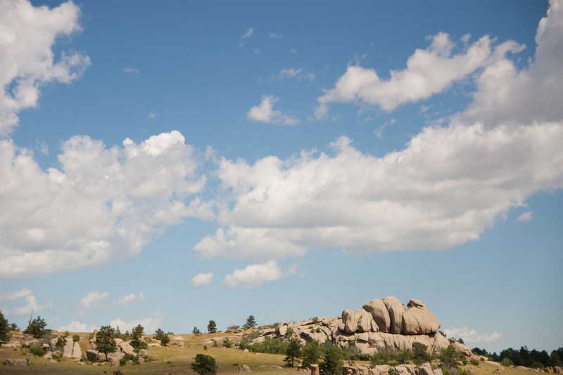 This is from the second day in Wyoming, when we went out to Vedauwoo to do some ATVin'.