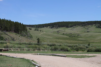 "Another view of the ""north pasture"". Past this you are in the Big Horn National Forest."